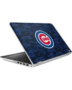 Chicago Cubs Digi Camo HP Pavilion Skin