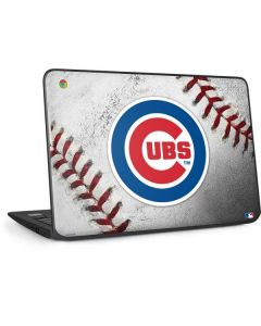 Chicago Cubs Game Ball HP Chromebook Skin