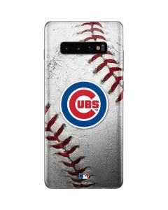 Chicago Cubs Game Ball Galaxy S10 Plus Skin