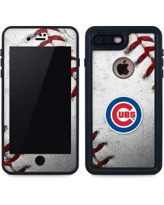 Chicago Cubs Game Ball iPhone 8 Plus Waterproof Case