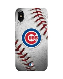 Chicago Cubs Game Ball iPhone XS Max Lite Case
