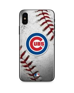 Chicago Cubs Game Ball iPhone XS Max Skin