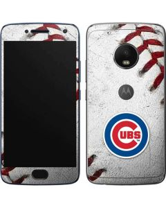 Chicago Cubs Game Ball Moto G5 Plus Skin