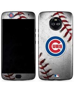Chicago Cubs Game Ball Moto X4 Skin