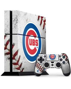 Chicago Cubs Game Ball PS4 Console and Controller Bundle Skin