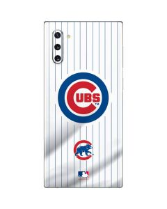 Chicago Cubs Home Jersey Galaxy Note 10 Skin