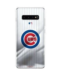 Chicago Cubs Home Jersey Galaxy S10 Plus Skin