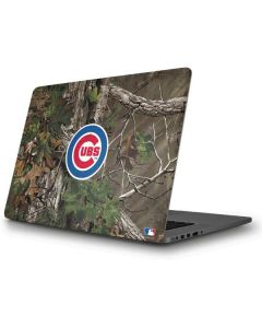 Chicago Cubs Realtree Xtra Green Camo Apple MacBook Pro Skin