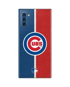 Chicago Cubs Split Galaxy Note 10 Skin