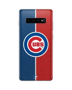 Chicago Cubs Split Galaxy S10 Plus Skin
