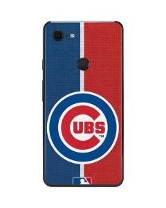 Chicago Cubs Split Google Pixel 3 XL Skin