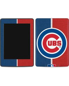 Chicago Cubs Split Amazon Kindle Skin