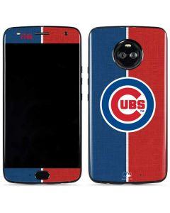 Chicago Cubs Split Moto X4 Skin