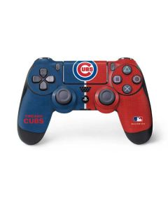 Chicago Cubs Split PS4 Controller Skin
