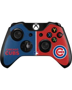 Chicago Cubs Split Xbox One Controller Skin