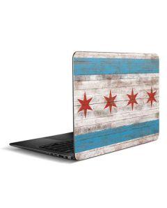 Chicago Flag Dark Wood Zenbook UX305FA 13.3in Skin