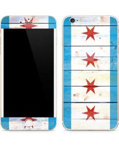 Chicago Flag Light Wood iPhone 6/6s Plus Skin