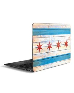 Chicago Flag Light Wood Zenbook UX305FA 13.3in Skin