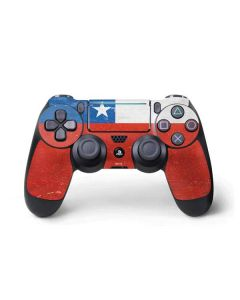 Chile Flag Distressed PS4 Pro/Slim Controller Skin