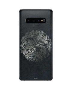 Chinese Black Dragon Galaxy S10 Plus Skin