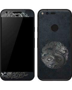 Chinese Black Dragon Google Pixel Skin