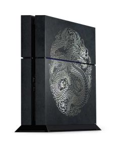 Chinese Black Dragon PS4 Console Skin