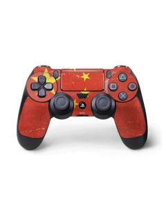 Chinese Flag Distressed PS4 Pro/Slim Controller Skin