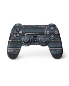 Chipped Blue Wood PS4 Pro/Slim Controller Skin