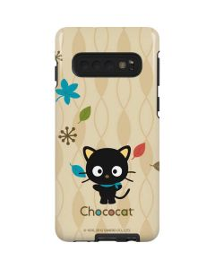 Chococat Autumn Leaves Galaxy S10 Pro Case