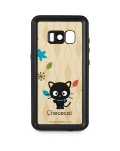 Chococat Autumn Leaves Galaxy S8 Plus Waterproof Case