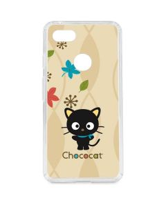 Chococat Autumn Leaves Google Pixel 3 XL Clear Case
