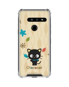Chococat Autumn Leaves LG G8 ThinQ Clear Case