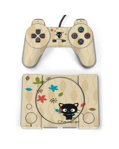 Chococat Autumn Leaves PlayStation Classic Bundle Skin