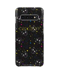 Chococat Black Repeat Pattern Galaxy S10 Lite Case