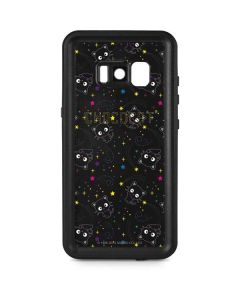 Chococat Black Repeat Pattern Galaxy S8 Plus Waterproof Case