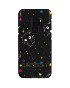 Chococat Black Repeat Pattern Galaxy S9 Plus Pro Case