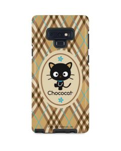 Chococat Brown and Blue Plaid Galaxy Note 9 Pro Case