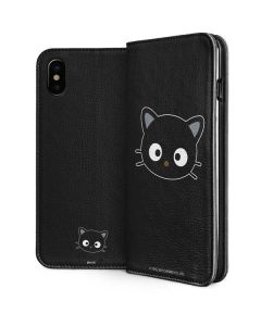 Chococat Cropped Face iPhone XS Folio Case