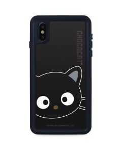 Chococat Cropped Face iPhone XS Max Waterproof Case