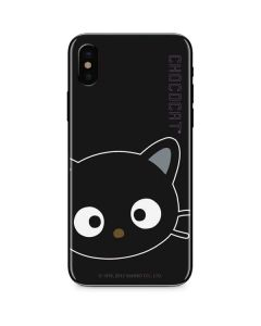 Chococat Cropped Face iPhone XS Skin