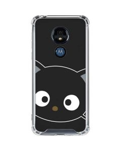 Chococat Cropped Face Moto G7 Power Clear Case