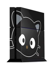 Chococat Cropped Face PS4 Console Skin