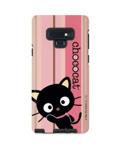 Chococat Pink and Brown Stripes Galaxy Note 9 Pro Case