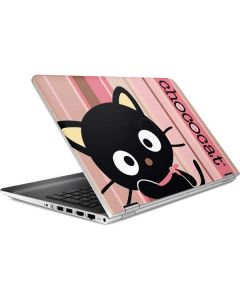 Chococat Pink and Brown Stripes HP Pavilion Skin