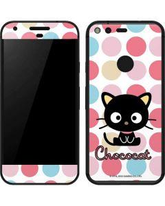 Chococat Pink Circles Google Pixel Skin