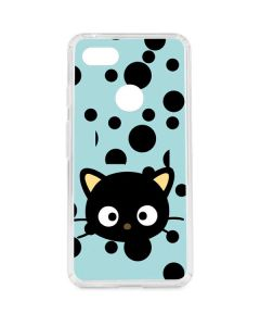 Chococat Teal Google Pixel 3 XL Clear Case