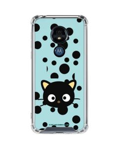Chococat Teal Moto G7 Power Clear Case