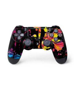 Chromatic Splatter Black PS4 Pro/Slim Controller Skin