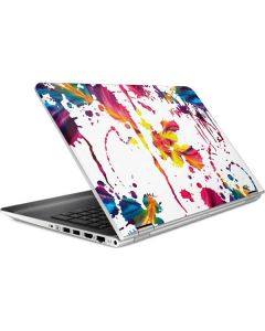 Chromatic Splatter White HP Pavilion Skin