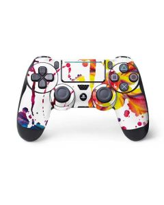 Chromatic Splatter White PS4 Pro/Slim Controller Skin
